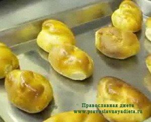 Пирожки из постного теста монастырские