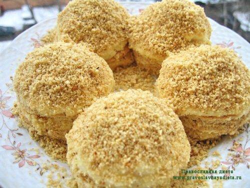 Пирожные «Одуванчики»