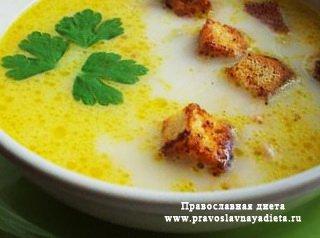 Яично-сырный суп