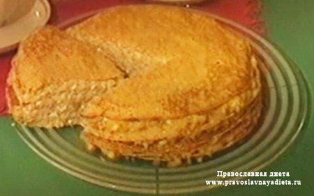 Пирог блинчатый