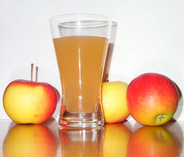 Квас из яблок